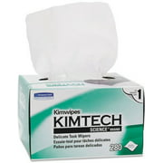 6 Pack - Kimtech Science KimWipes Delicate Task Wipers; 4.4 x 8.4 in. 1-ply 280 ea
