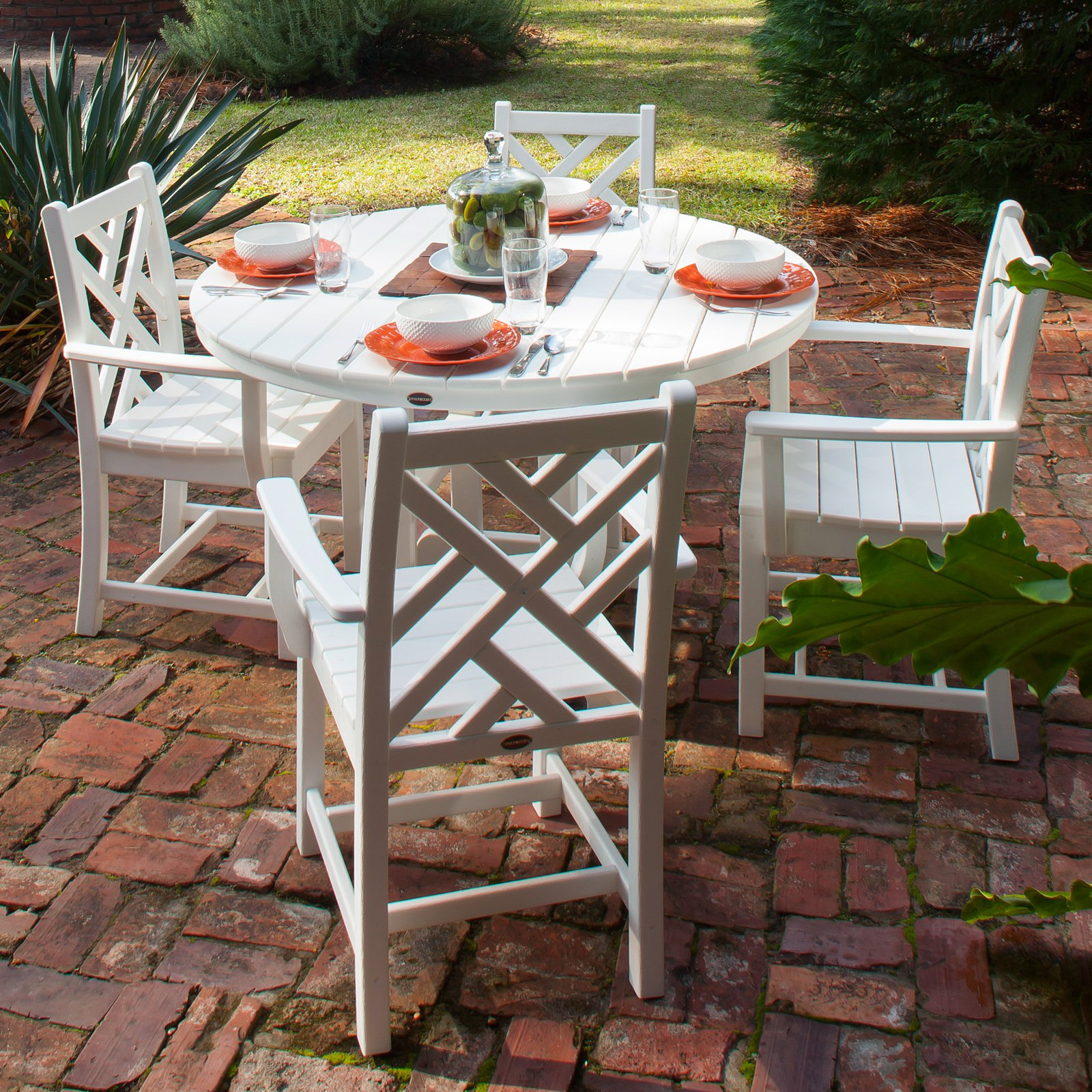 POLYWOOD® Chippendale Dining Set - Seats 4