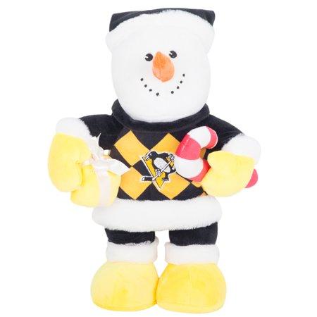 Pittsburgh Penguins Heavy Foot Snowman Plush No Size Walmart Com