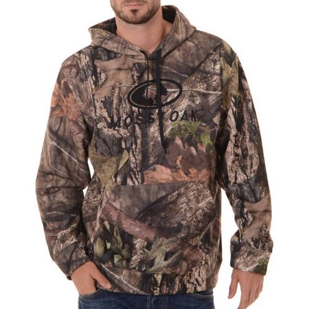 Realtree and mens camo performance pullover fleece hoodie for Realtree camo flannel shirt