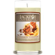 Cinnamon Sensation Candle with Ring Size 7 Inside (Surprise Jewelry Valued at $15 to $5,000)