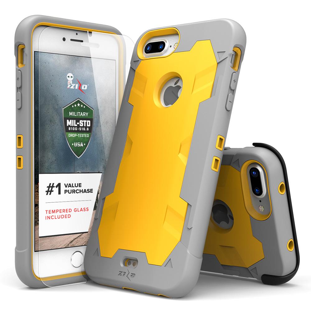 iPhone X / 8 / 8 Plus / 7 / 7 Plus, Zizo PROTON Case Military Grade Glass Screen