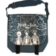 Attack On Titan Group & Wall Anime Messenger Bag