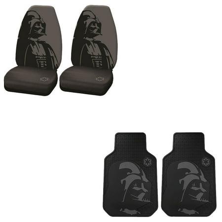 Star Wars Darth Vader 2 Front Vinyl Floor Mats And 2 Seat Covers](Star Wars Seal)