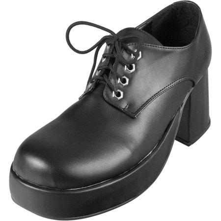 Men's Black Platform Shoes (Mens Platform Shoes)