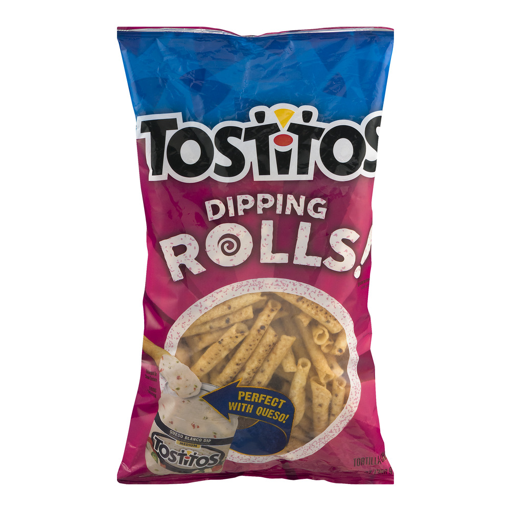 Tostitos Dipping Rolls Tortilla Chips, 14.0 OZ