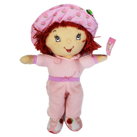 Strawberry Shortcake Track Running Outfit Plush Toy (15in) - Strawberry Shortcake Outfits