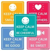 Stay Calm Sweet Stickers -100 per pack