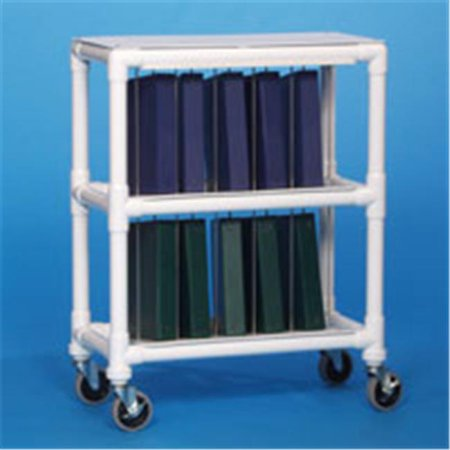 Notebook Chart Rack Holds - Innovative Products Unlimited NCR10 L NOTEBOOK CHART RACK - HOLDS 10 RING BINDERS