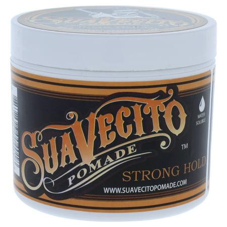 Suavecito Pomade Strong Hold - 4 oz Pomade