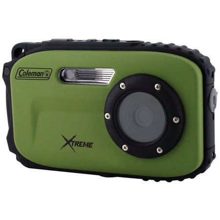 Coleman C5wp-g 12.0-megapixel Xtreme Waterproof Digital Camera (green)