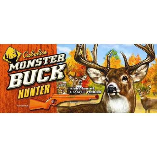 Cabela's Monster Buck Hunter with Gun Peripheral - Nintendo Wii