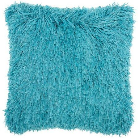 Studio NYC Design Soft Ribbon Shag Throw Pillow (Nyc Decorative Pillows)