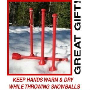 Snofling Snow Ball Throwing Stick Snowfling (One Random Color) for $<!---->