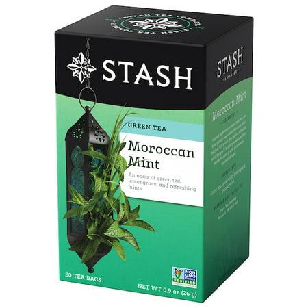 Stash Tea Moroccan Mint Green Tea, 20 Ct, 0.9 Oz