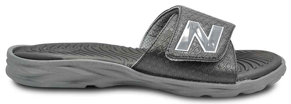 0f91b2543e New Balance - New Balance Response Slide Sandals for Men - Wide, Black &  Grey, Men's 9 - Walmart.com