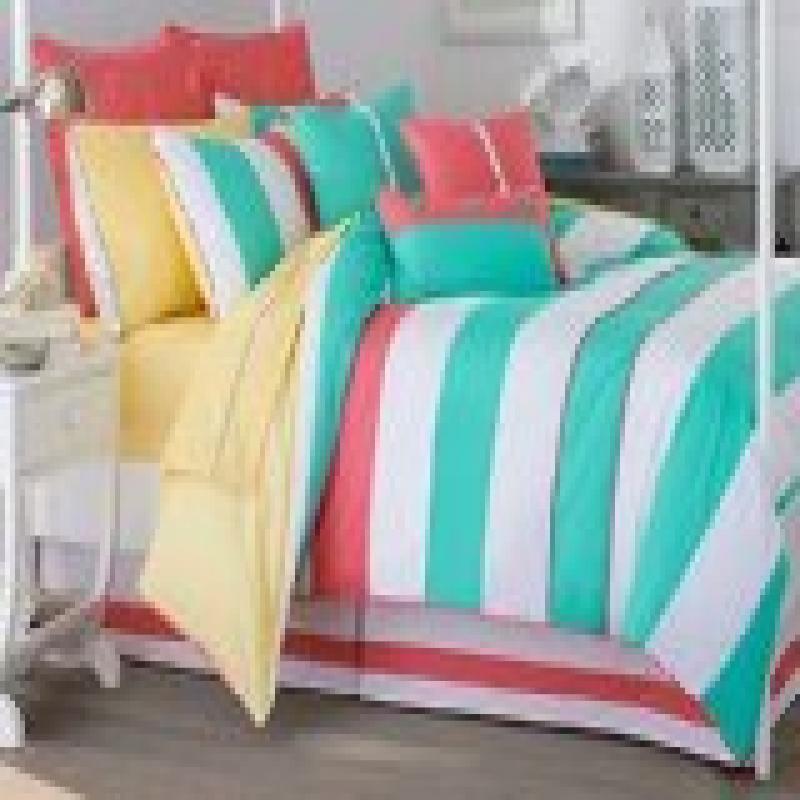 Southern Tide Cabana Stripe Full Comforter Set