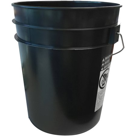 Argee 5 Gallon Black Bucket, 10-Pack - Mark 1 Bucket