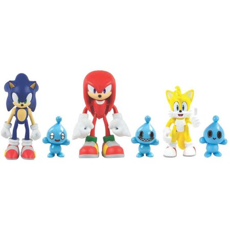 Action Figures - Sonic the Hedgehog - Sonic, Knuckles, Tails with Chao Pets - 3 - Tails Sonic Hedgehog
