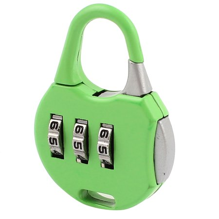 Handbag Style 3 Dial Lock Digits Security Password Padlock 4 Pack Combination Coded Jewelry Box Luggage