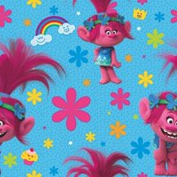 Trolls Roll of Gift Wrap (20sq. ft)