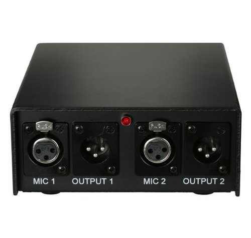 Audix APS2 2-Channel 48V Phantom Power Supply by Audix