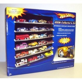 Mattel Hot Wheels 2006 Collector's Kit with 20 Hot Wheels...