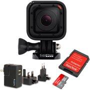 GoPro HERO4 Session with Bonus 16GB SD card and Bonus Accessory