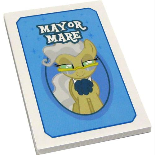 My Little Pony Monopoloy Parts 16 Mayor Mare Cards 1 1/2