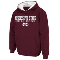 Mississippi State Bulldogs Stadium Athletic Youth Stack II Hoodie - Maroon