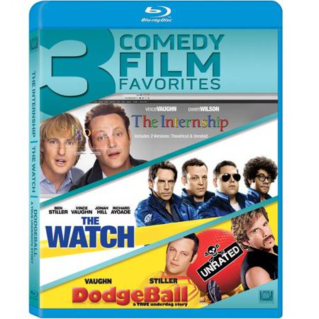 The Internship / The Watch / Dodgeball (Blu-ray)