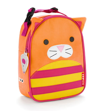 Skip Hop Lunch Bag - Skip Hop Zoo Lunchie Insulated Lunch Bag, Cat