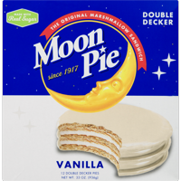 Moon Pie Double Decker Vanilla Marshmallow Sandwiches, 2.75 Oz., 12 Count