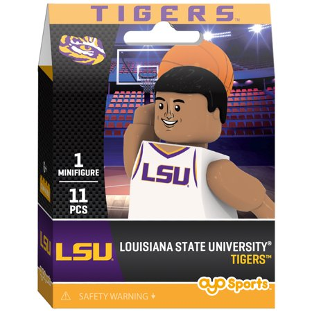 LSU Tigers OYO Sports Campus Collection Basketball Minifigure - No Size