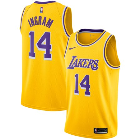 0e9381ed917 Brandon Ingram Los Angeles Lakers Nike Replica Swingman Jersey - Icon  Edition - Gold - Walmart.com