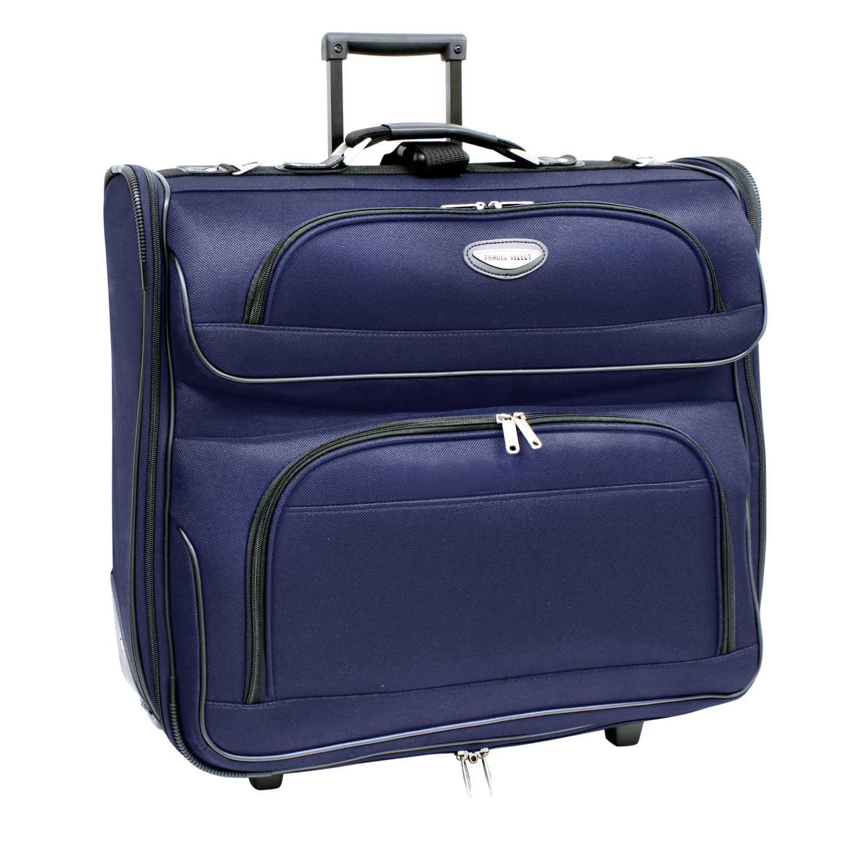 Traveler's Select Amsterdam Rolling Garment Bag