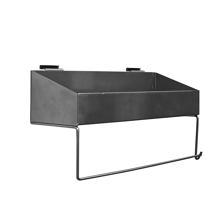 10029 Paper Towel Holder Shelf Designed for PVC SlatwallPerfect ...