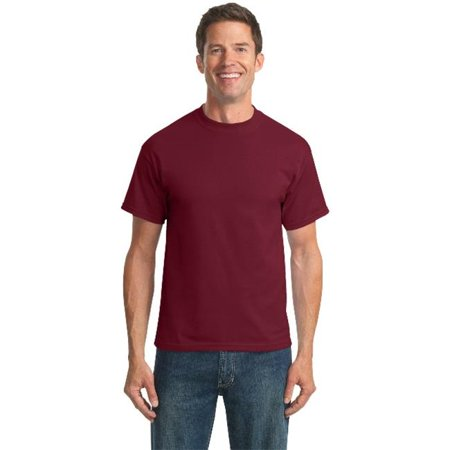 Port & Company® Tall Core Blend Tee. Pc55t Cardinal Lt - image 1 of 1
