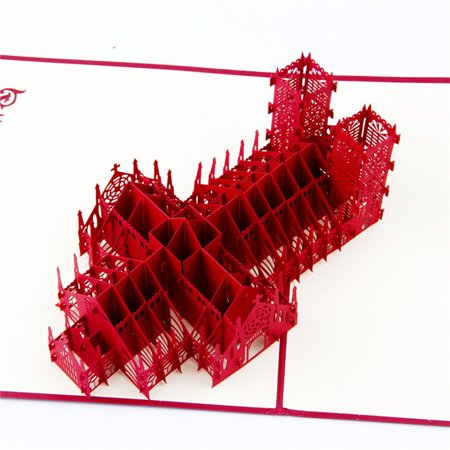 3D Pop Up Cards Valentine Lover Happy Birthday Anniversary Greeting E