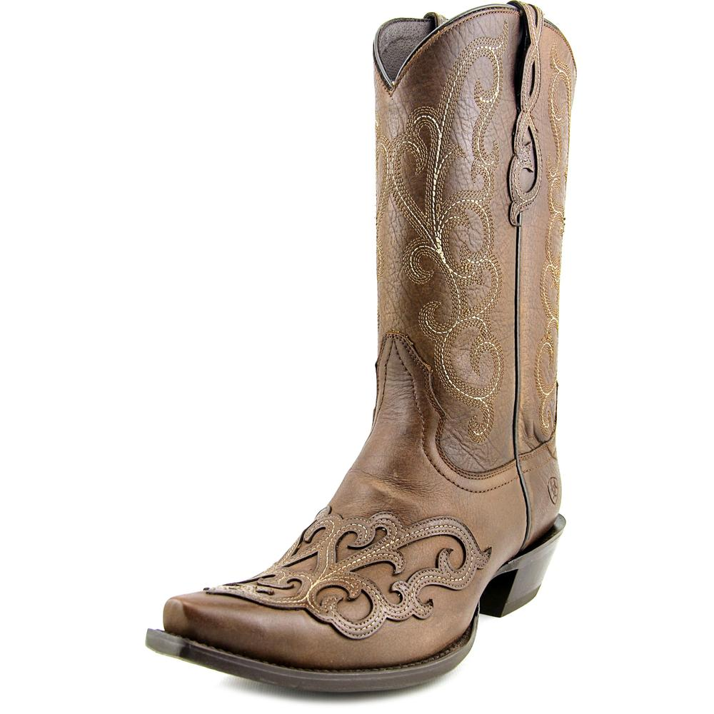 Ariat Rainey Women  Pointed Toe Leather Brown Western Boot