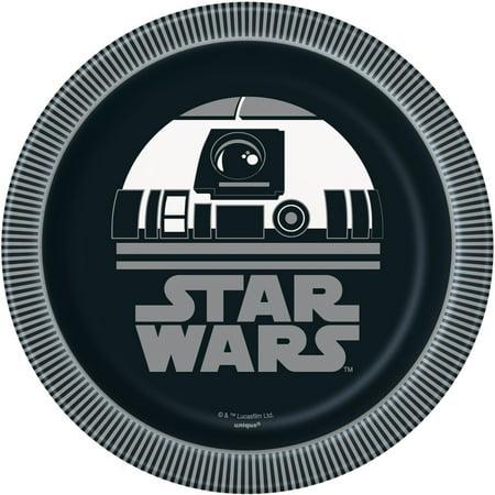 Star Wars Paper Dessert Plates, 7in, -