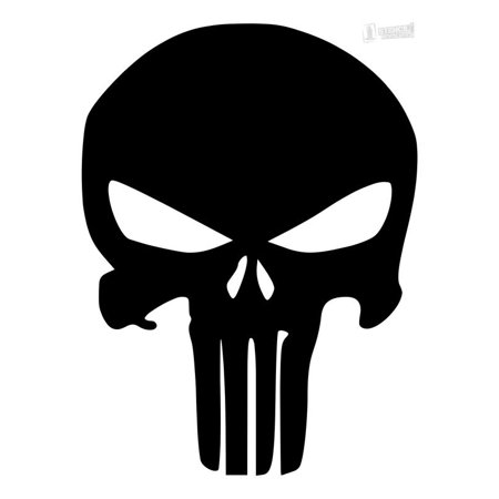 Pack of 3 Punisher Skull Stencils Made from 4 Ply Mat Board 11x14, 8x10, 5x7