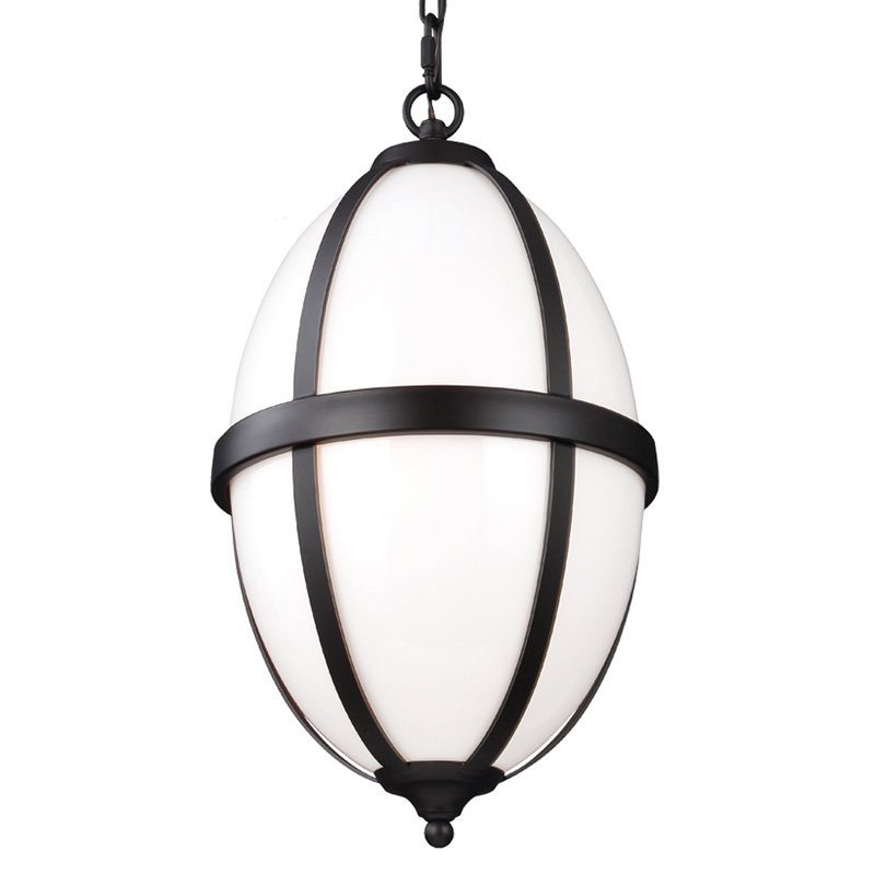 Feiss Amato F305 Oval Pendant by Murray Feiss