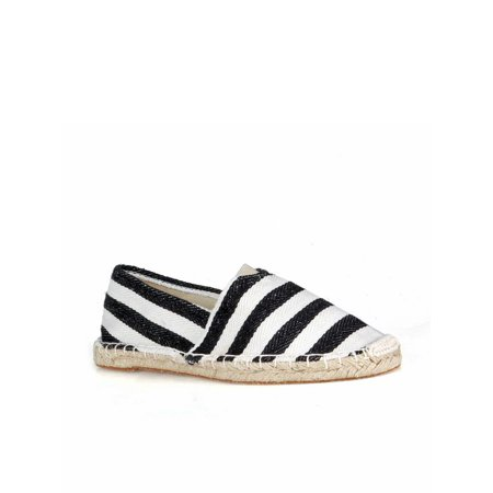 Sexy Espadrille (Nature Breeze Striped Women's Espadrille Flats in)