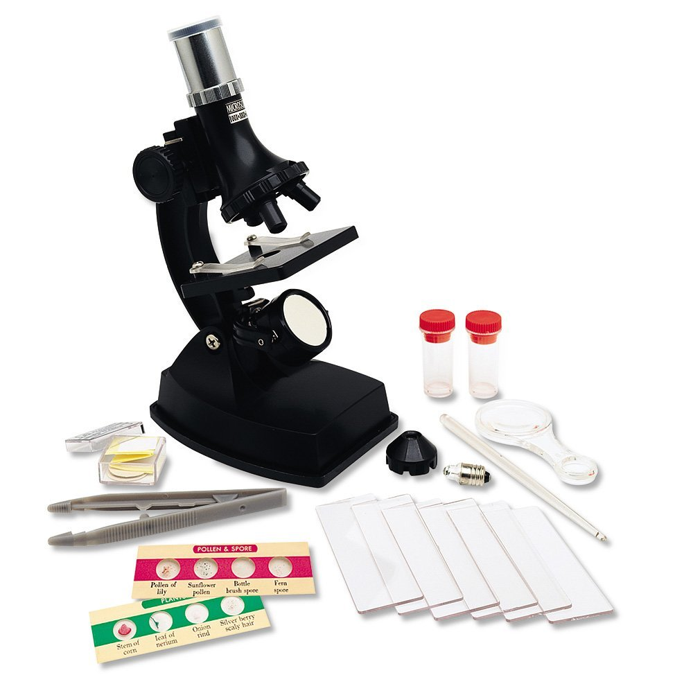 Learning Resources Elite Microscope, 100x, 300x, and 600x Magnification, Ages 3+