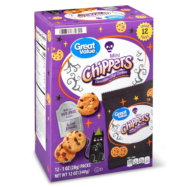 Great Value Gv Harvest Orange Chippers Multipack