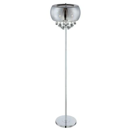 Lite Source EL-90064 4 Light Floor Lamp - Lite Source Four Light
