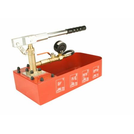 Steel Dragon Tools® RP-30 Hydraulic Manual Pressure Test Pump 726 PSI 2 Gallon Tank 1/4