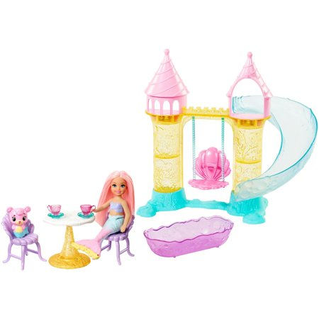 Barbie Chelsea Mermaid Doll & Playset with Accessories
