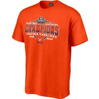 Virginia Cavaliers Blue 84 2019 NCAA Division I Men's Lacrosse National Champions Debris T-Shirt - Orange